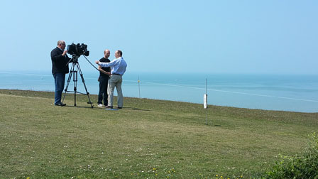 Rob Wassell BBC News Birling Gap