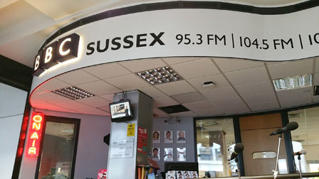 Rob Wassell BBC Radio Sussex Coastal Erosion