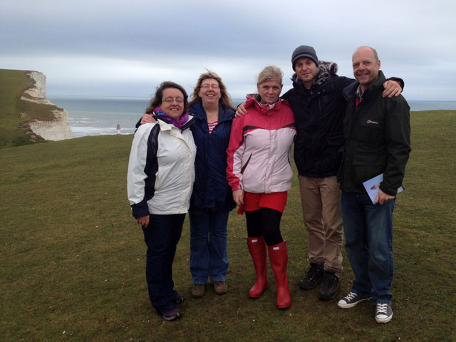 Rob Wassell on BBC Countryfile to help Save the Stripes of the Beachy Head Lighthouse