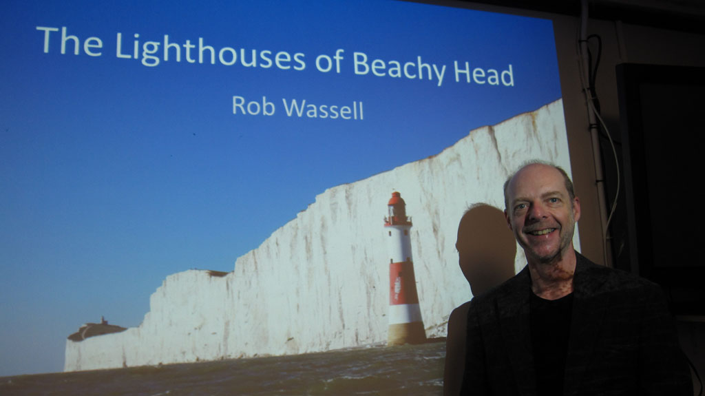 Lighthouses of Beachy Head Talk at Look and Sea Littlehampton