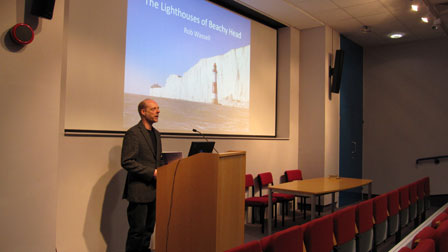 Rob Wassell Lighthouses of Beachy Head Worthing Lecture Hall