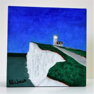 Rob Wassell Belle Tout Lighthouse Canvas