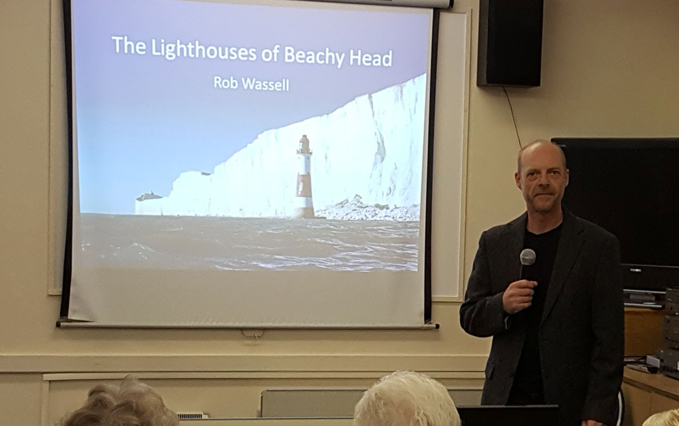 Lighthouse Talk in Worthing, Sussex